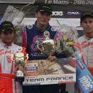 30 septembre – Pluie de podiums en Rotax au Mans