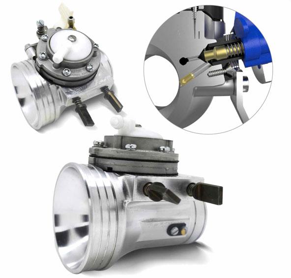 Un carburateur vis pour le rotax max kartmag - Reglage carburateur a membrane ...