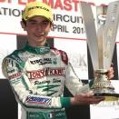 WSK Castelletto KF: Superbe podium pour Aubry