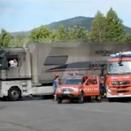 Hangar Tony Kart et structures Kosmic en feu