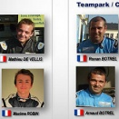 Deux équipes pour le Team Park aux 24H du Mans !
