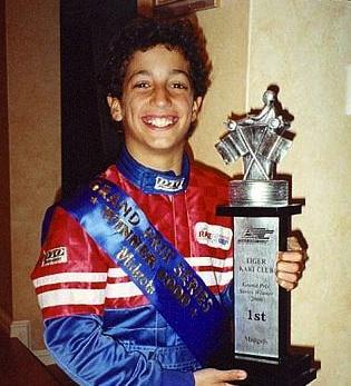 Daniel Ricciardo a couru plusieurs années en Karting