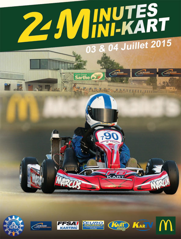 24 mn du mans le rdv annuel des mini karts kartmag. Black Bedroom Furniture Sets. Home Design Ideas
