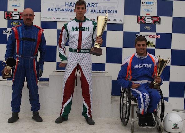 Adrien Turkawka Champion de France Handikart-1