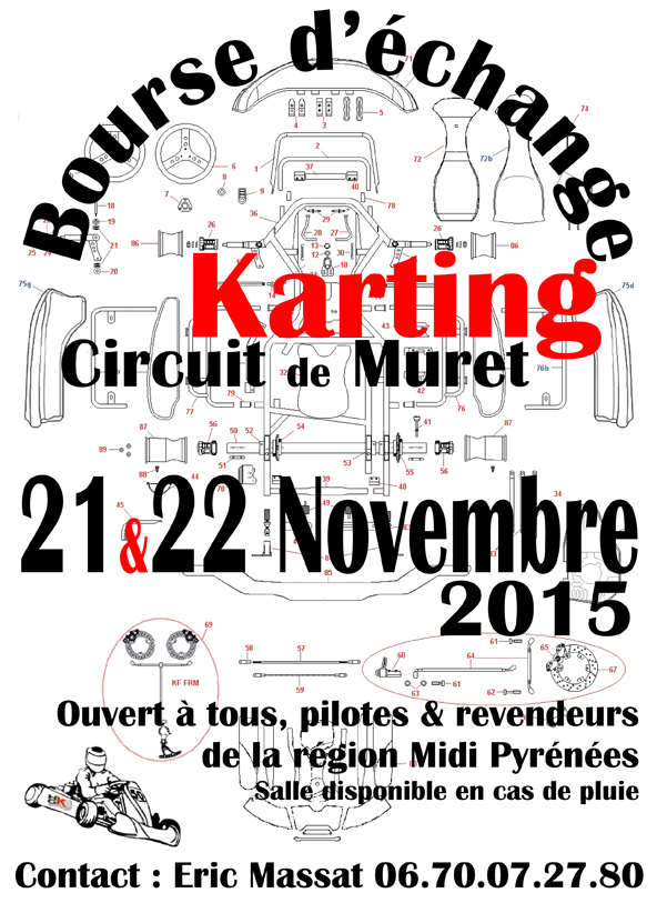 parlons karting les 21 et 22 novembre kartmag. Black Bedroom Furniture Sets. Home Design Ideas
