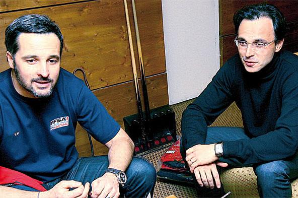 Yvan Muller et Nicolas Deschaux sont sur la même liste