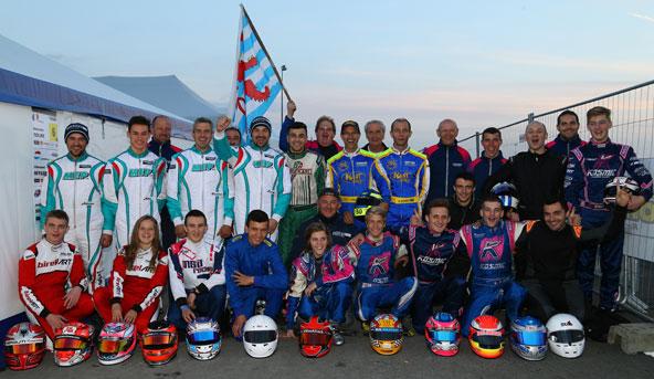 L'équipe Ideal Kart à la Finale Internationale Iame-X30 au Mans