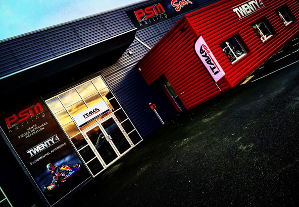 psm racing de retour s 39 installe au mans kartmag. Black Bedroom Furniture Sets. Home Design Ideas