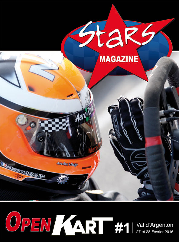 stars magazine sp cial open kart est en ligne kartmag. Black Bedroom Furniture Sets. Home Design Ideas