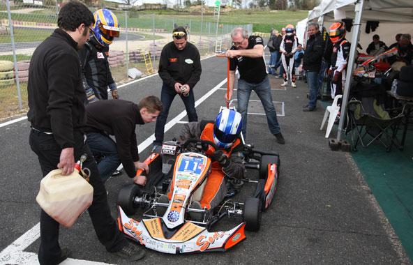 L'équipe engagée par Sarthe-RTKF en GP2 a remporté sa catégorie