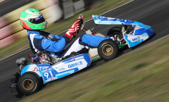 Premier podium d'un X30 en GP2.