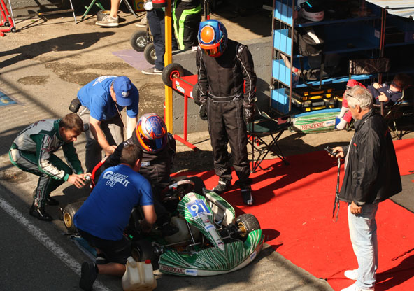 Le team Arpajon-Gamatt s'est étoffé cette année et devrait postuler pour le podium