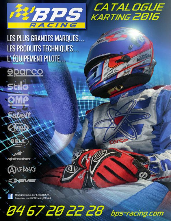 le catalogue bps karting d couvrir en ligne kartmag. Black Bedroom Furniture Sets. Home Design Ideas