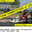 Challenge Minarelli, FFSA, Rotax et Usseau ce week-end