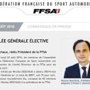 FFSA: Nicolas Deschaux réélu sans surprise