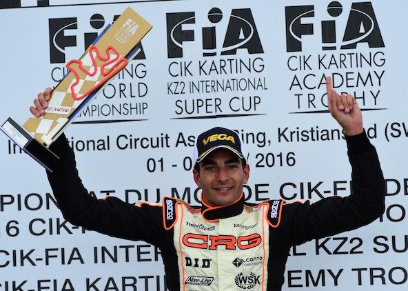 KZ1-Paolo De Conto le tient son Championnat du Monde-1