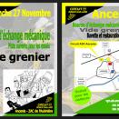 Dimanche 27 novembre: Vide-Grenier à Ancenis