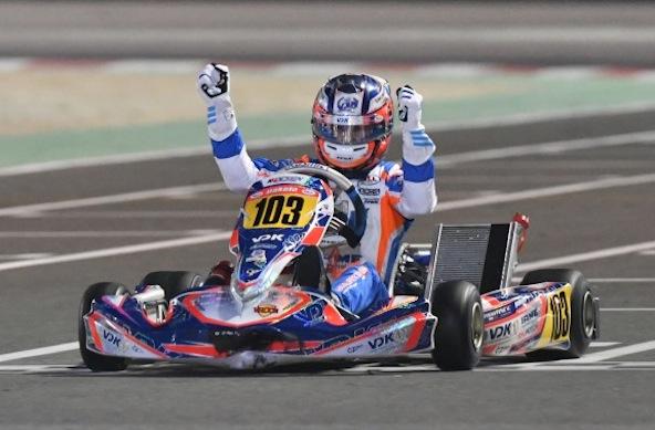 Enorme-Victor Martins Champion du Monde OK Junior-1