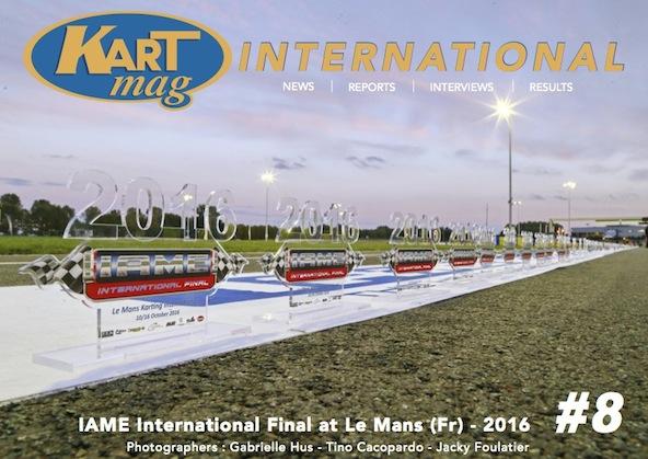 Kartmag numerique 8 special Finale IAME X30