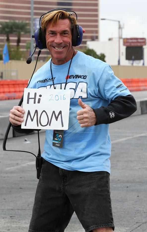 Petit message sympa à sa maman...