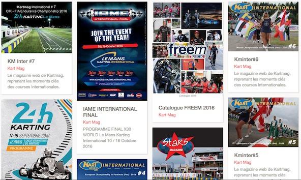 Magazines numeriques Kart Mag