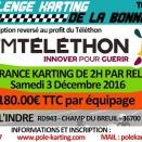 Samedi 3: Endurance Kart dans le centre pour le Téléthon