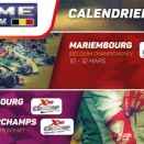 Les dates du Challenge Belgium (RACB + ASAF)