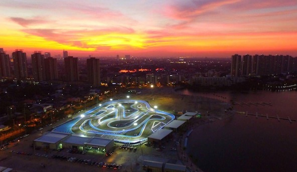 Un nouveau circuit loisir a Bangkok avec Tec Pro-2