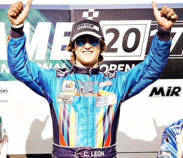 Victoire de Carlos Leon en X30 Senior