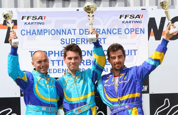 Lopez Prats lance la saison du Long Circuit en TTI Carbone
