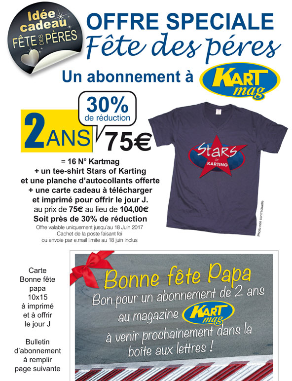 abonnement t shirt pour la f te des p res kartmag. Black Bedroom Furniture Sets. Home Design Ideas