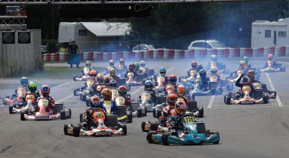 Iglesias en tête du peloton du KZ2