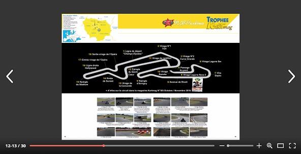 Dossier de presentation du Trophee Kartmag avec des nouveautes