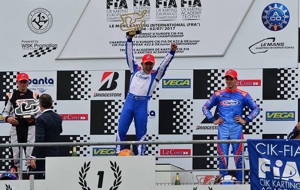 KZ2-Ippolito impose son Lenzo-LKE au Mans