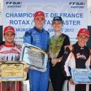 Rotax: Nouveau triomphe pour Renaudin et triplé KPR