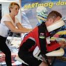 Kart Festival: Des massages bien être dans le mini-village