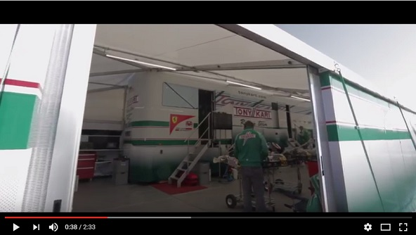 Le Tony Kart Racing Team en video