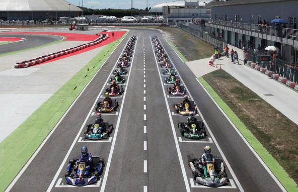 De la diversité en Italie en KZ2. Tout du moins au niveau des châssis, car TM domine côté moteur...