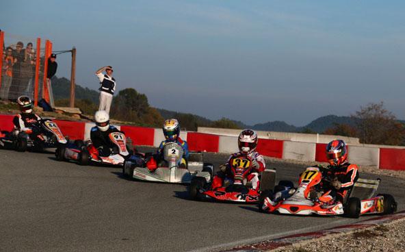 Les courses sont souvent très disputées au Trophée Claude Secq (photo Pascal Hermer)