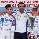 Luca Bosco, vice Champion d'Italie OK-Junior