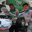 Mondial OK Junior: Thompson en pole, Meguetounif 14e