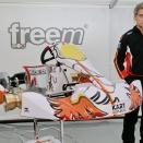Dino Chiesa présente son nouveau châssis: Kart Republic
