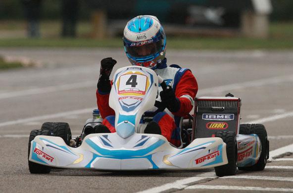 Un Top Kart Champion de France, cela faisait longtemps que ce n'était plus arrivée (pour peu que cela se soit déjà présenté !
