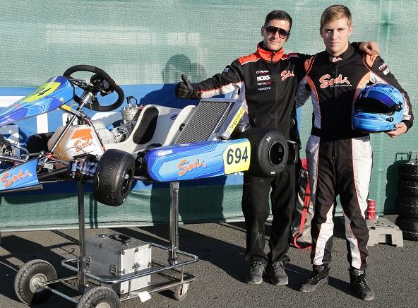 La pole pour Adrien Renaudin en X30 Super
