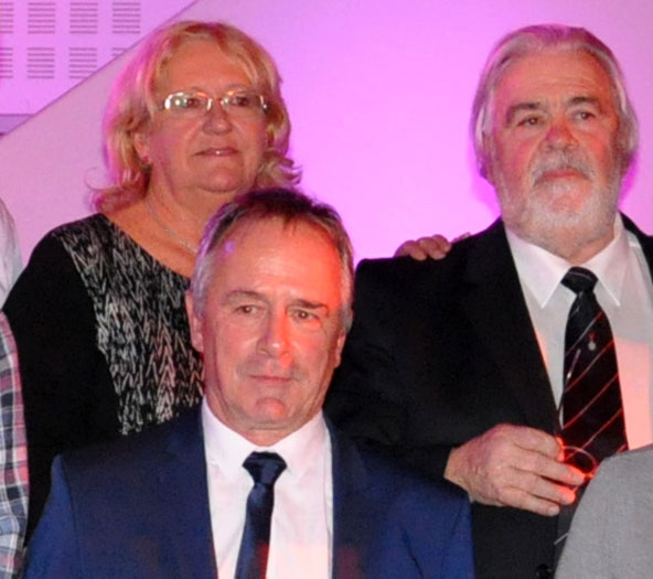 A la CNK, Michel Guignard succède à Jean-Pierre Deschamps (ici à droite avec son épouse Marie-Noëlle) et au regretté Jean-Claude Sanchez.