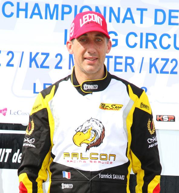 Yannick Savard gagne la finale en KZ2 Master
