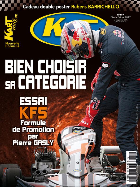Kart Mag a récemment consacré une couverture à Pierre Gasly, qui était gentiment venu faire le pilote essayeur pour le magazine