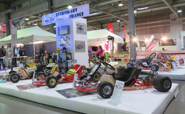 Rétrokart a assuré la promotion de sa Coupe de France Histori'Kart, qui a connu un grand succès en 2017