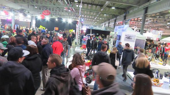 Le Motor Show attire toujours beaucoup de monde au Luxembourg