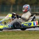 Petite récréation en kart pour Victor Martins
